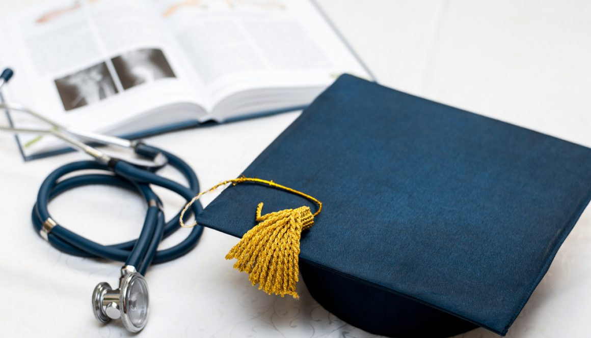 Graduation,Hat,Medical,Stethoscope,,Book